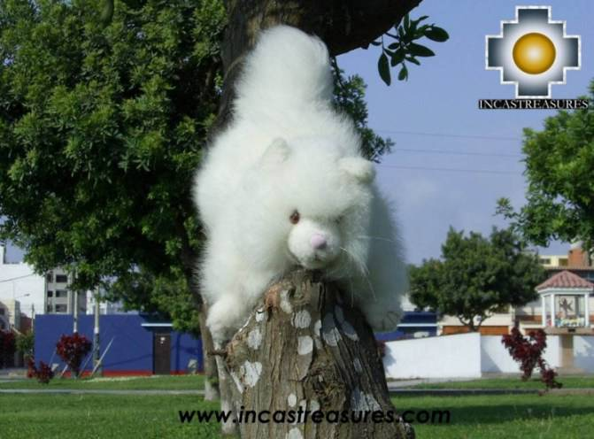 Cute Little White cat - PASCO - Product id: TOYS08-24