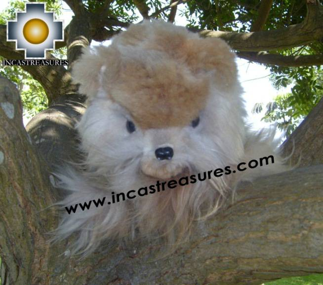 Adorable White Big cat - peludo THE CAT - Product id: TOYS08-23