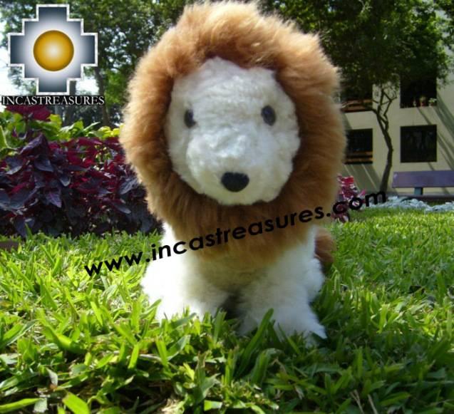 Adorable Stuffed Animal Buba The Lion