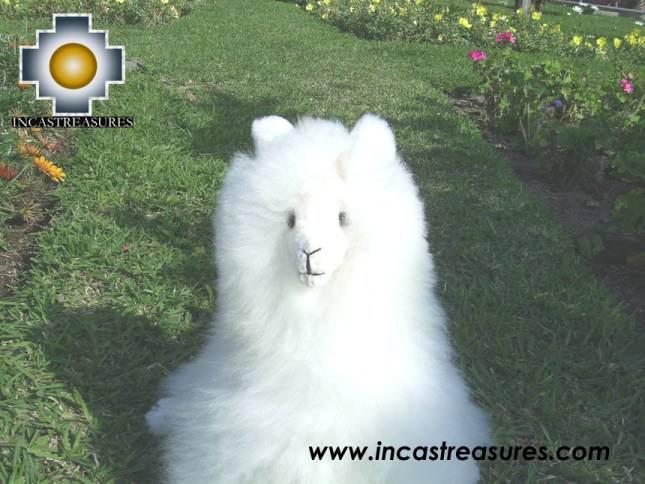 Big Alpaca Seated - LANA - Product id: TOYS08-35 alpaca stuffed animal