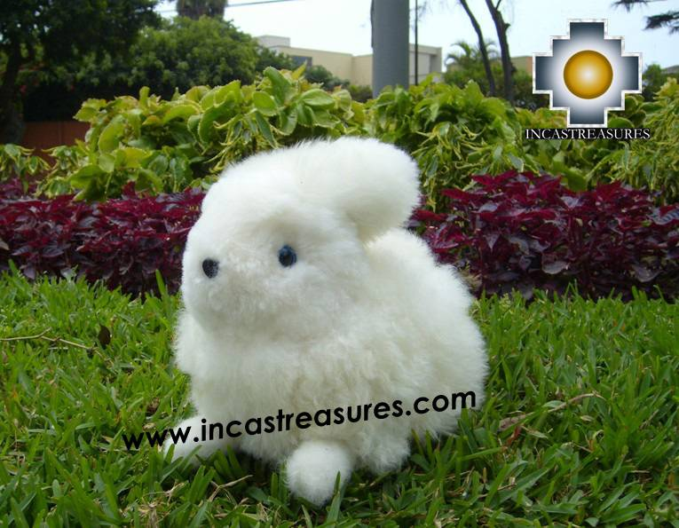 Alpaca Stuffed Animal Rabbit Bigotes - Product id: TOYS08-61 Photo03