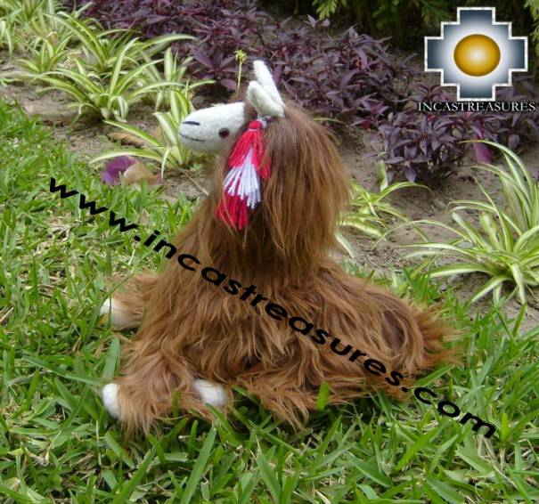 Alpaca Stuffed Animal Alpaca Suri Guli - Product id: TOYS08-63 Photo06