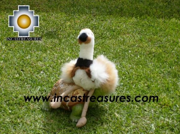 Cute and elegant Ostrich PUQUI
