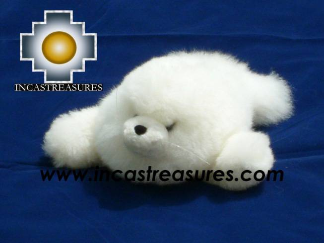 Gotita adorable white seal, the perfect gift for you