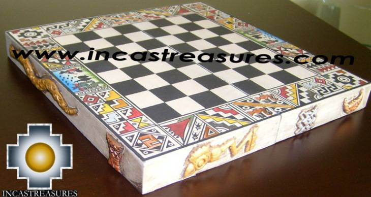 Big wooden classic Chess Set - 100% handmade - Product id: toys08-66chess